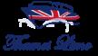 Blue Red Boat Logo